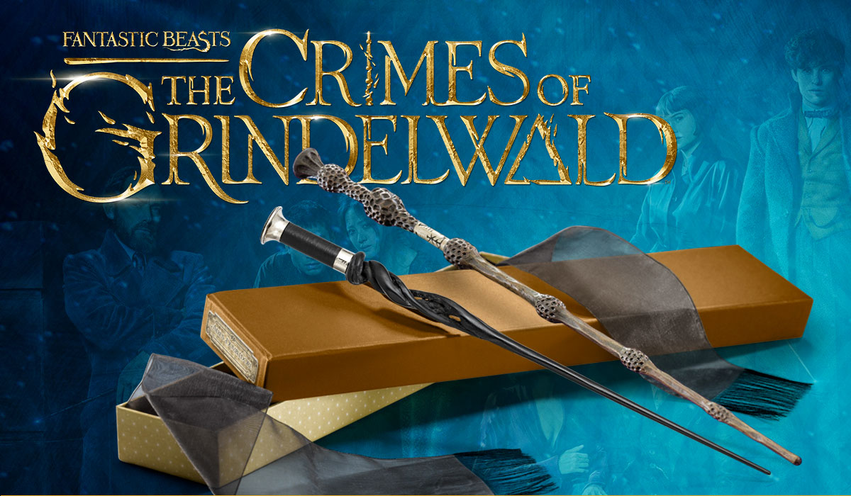 Nuevas varitas mágicas Los crímenes de grindelwald title=