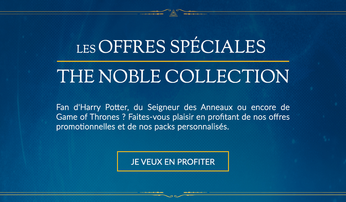les offres spéciales packs et promotions the noble collection title=
