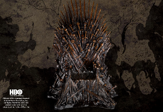 Game of Thrones - The Iron Throne in Bronze