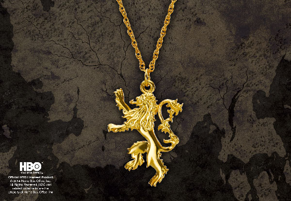 Game of Thrones - Lannister's Pendant