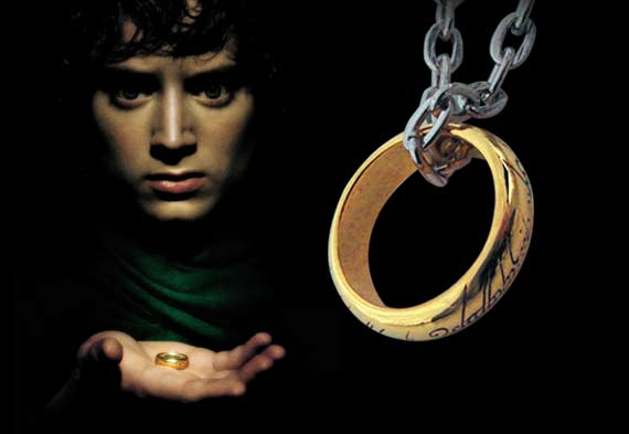 The one ring - Replica - The Lord of the Rings