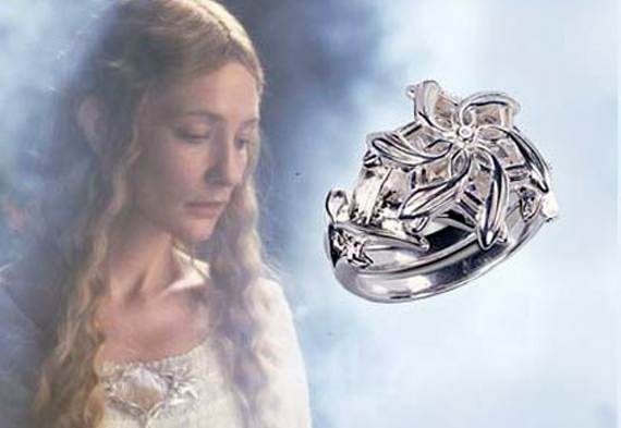 Nenya Réplica - The Galadriel Ring - The Lord of the Rings