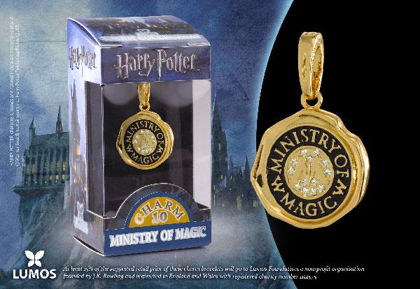 Le Ministère de la Magie - Charm Lumos - Harry Potter