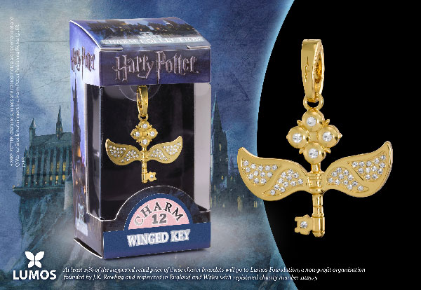 Flying key - Charm Lumos - Harry Potter