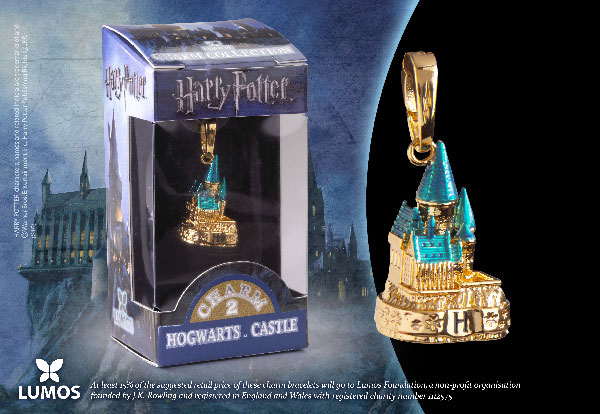 Poudlard doré - Charm Lumos - Harry Potter