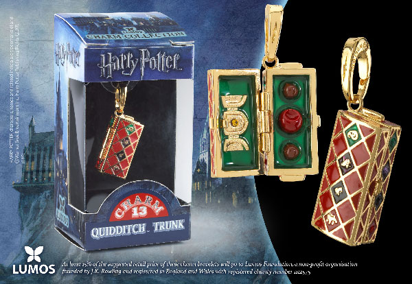 Quidditch Trunk - Charm Lumos - Harry Potter