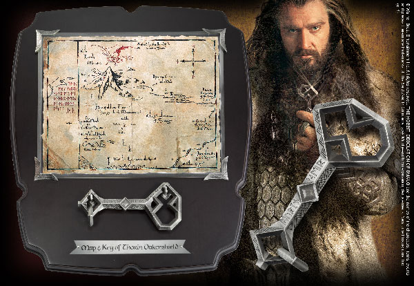 Thorin's Key and Map Full Size Key