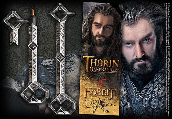 Llave de Thorin - Marca páginas y Bolígrafo