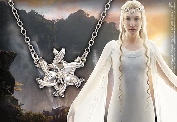 Galadriel - Colgante plata pura - Hobbit