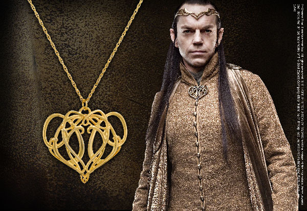 Elrond's Pendant Sterling Silver - Hobbit
