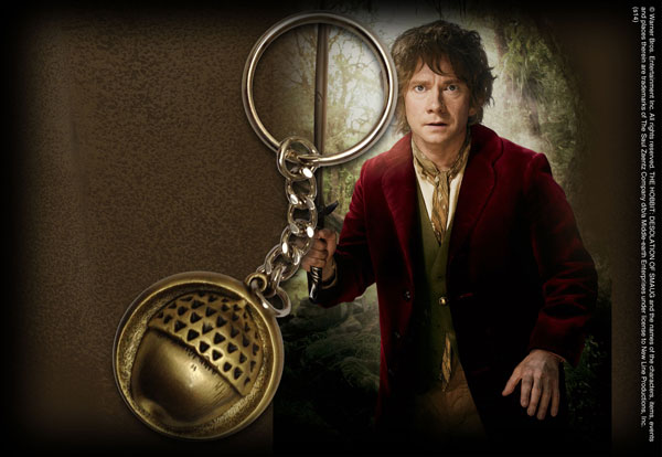 Hobbit - Bilbo's Button Keychain