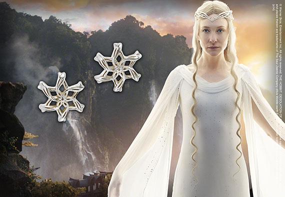 Galadriel - Pendientes Plata pura - Hobbit