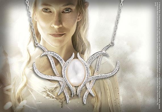 Galadriel Brooch Pendant - Sterling Silver - Hobbit