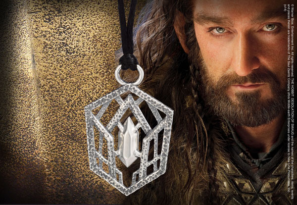 Thorin Oakenshield™ Belt Buckle - Anillo de plata 9 - Hobbit