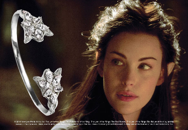 Arwen - Bracelet Evenstar ™ - silver 925th