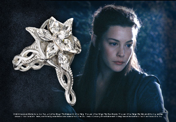 Arwen - Evenstar™ ring - silver 925th