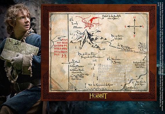 Carte de Thorin Oakenshield