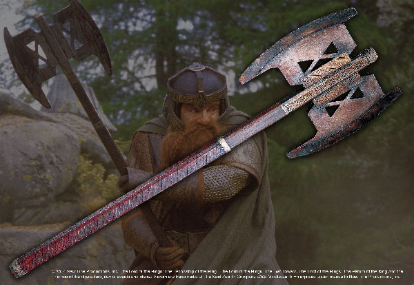 The Gimli™ Axe Lord of the Rings™