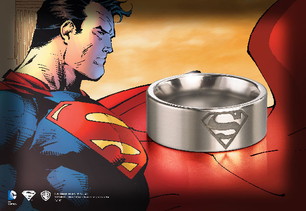 Superman™ - Steel Ring