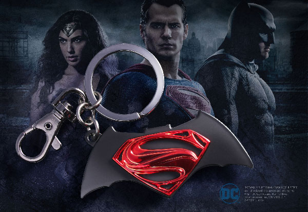 DC - Batman VS Superman Logo Key Chain