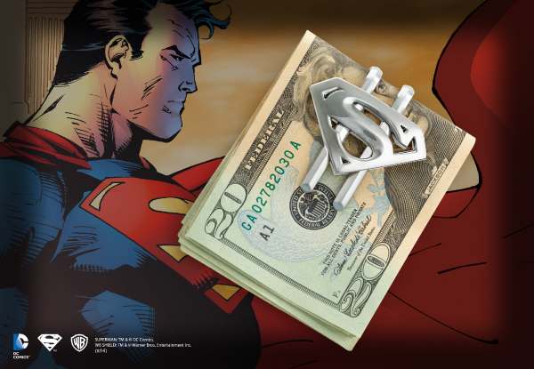 Clip para Billetes Metálico- Superman Returns™