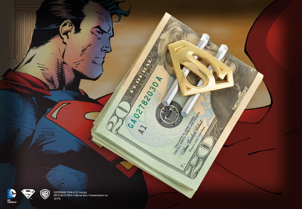 Clip para Billetes Chapado en Oro - Superman Returns™
