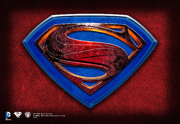 Man of Steel - Placa Murale