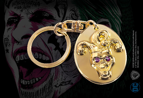 The Joker Key Chain - Suicide Squad - DC Comics