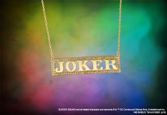 Harley Quinn - Joyas - Colgante Joker - Escuadrón Suicida - DC Comics