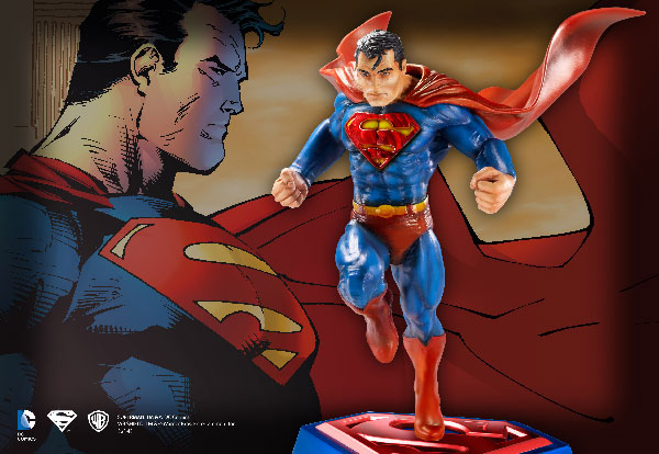 Superman - Escultura Comic book