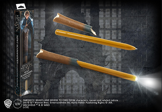 Newt Scamander Illuminating Wand Pen - Fantastic Beasts