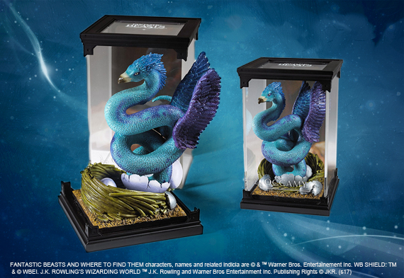 Magical creatures - Occamy - Fantastic Beasts figurine