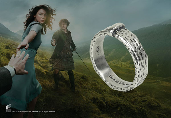 Claire's Wedding Ring Sterling Silver - Outlander