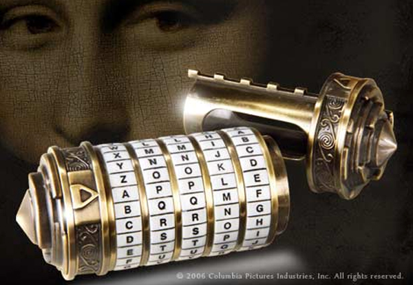 Cryptex Miniature - The Da Vinci Code