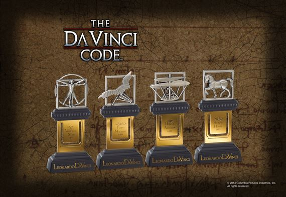 The DaVinci Drawings Bookmarks