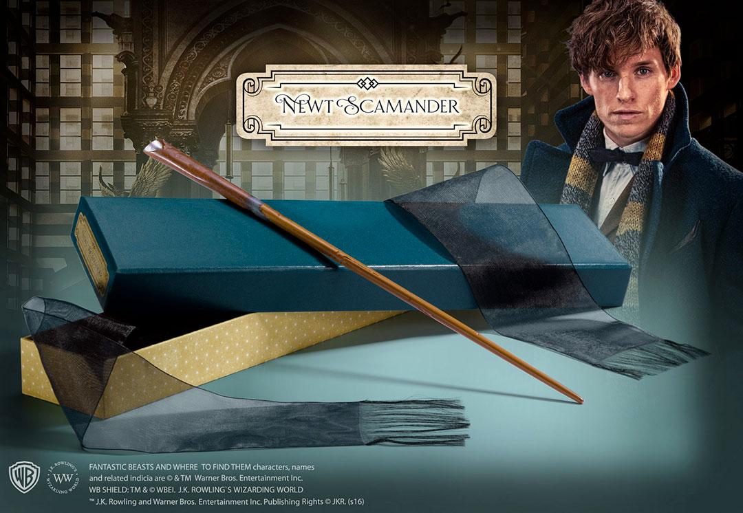 Newt Scamander's Wand Ollivander's - Fantastic Beasts