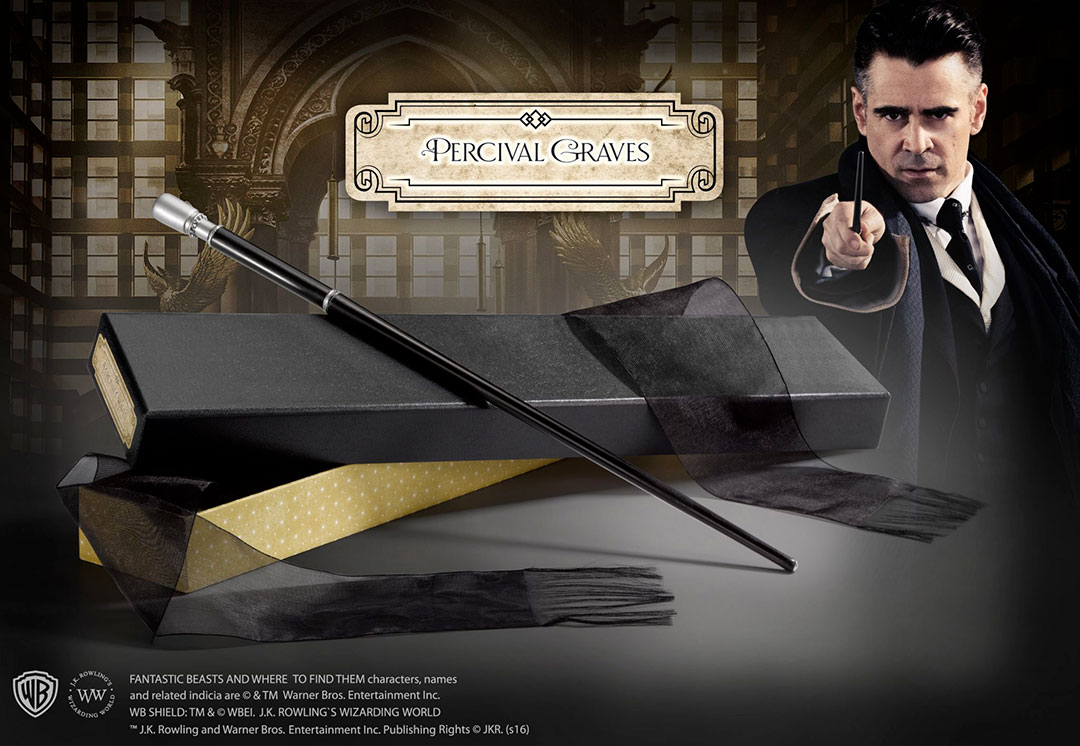 Percival Graves Wand Ollivander\'s - Fantastic Beasts