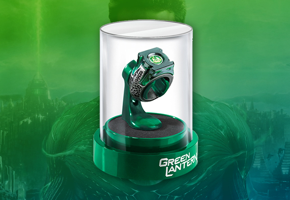 Prop Ring - Green Lantern - DC comics