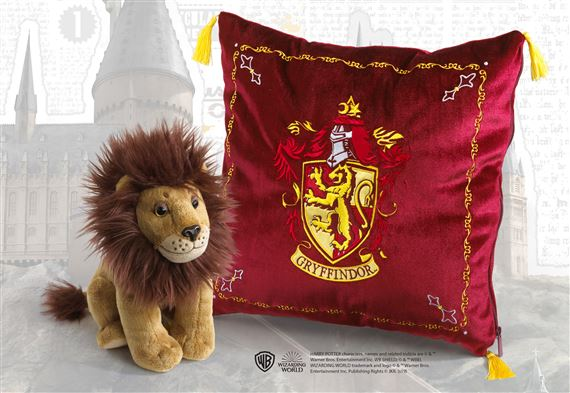 Gryffindor House Plush and Cushion - Harry Potter