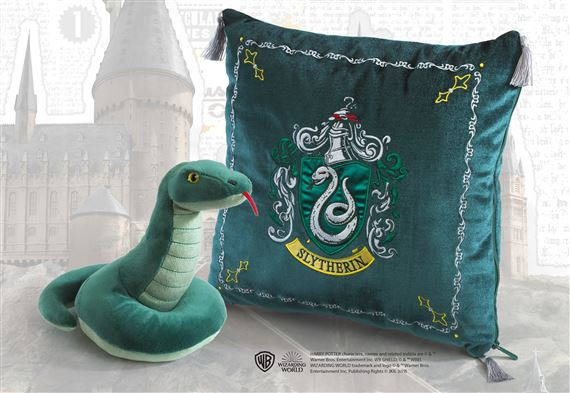 Slytherin House Plush and Cushion - Harry Potter