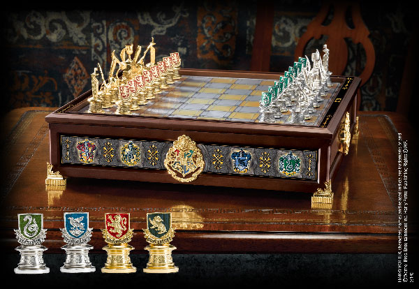The Hogwarts™ Houses Quidditch Chess Set