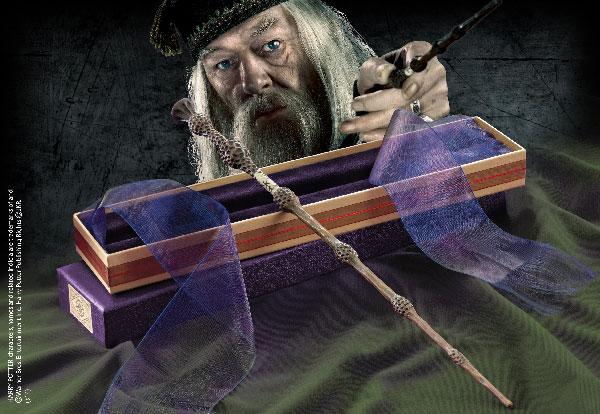 Baguette magique boîte Ollivander Albus Dumbledore - Harry Potter