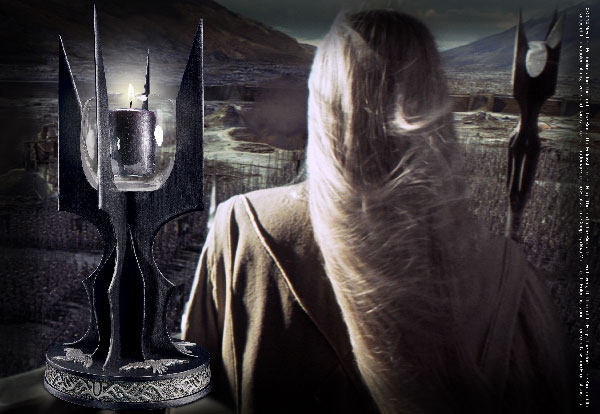Candle holder - Saruman's Staff