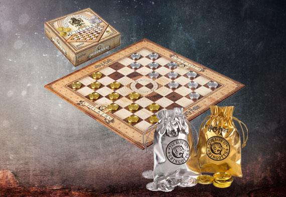 Jeux de dames - Pièces de Gringotts - Harry Potter