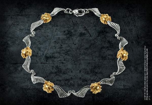 The Quidditch Golden Snitch Bracelet