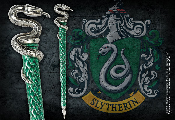 Bolígrafo - Slytherim - Harry Potter