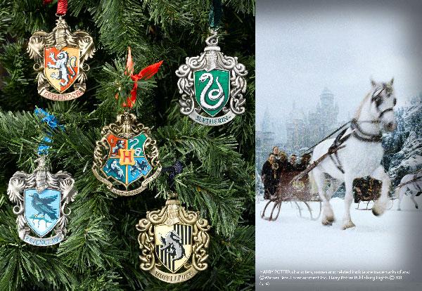 Adornos Navideños de Hogwarts