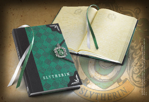 Diario - Slytherin - Harry Potter