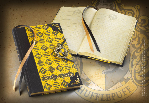 Diario - Hufflepuff - Harry Potter