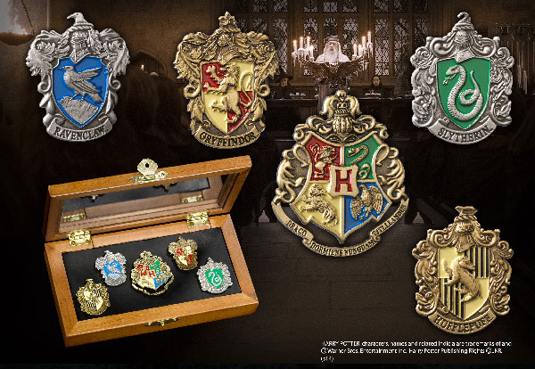 HP - HOGWARTS House Pins